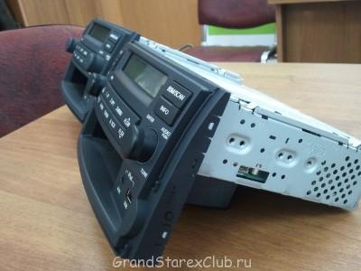 Продаю новую штатную магнитолу на GRAND STAREX radio\mp3\  - мафон штатный Starex2.jpg