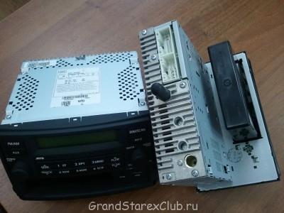 Продаю новую штатную магнитолу на GRAND STAREX radio\mp3\  - мафон штатный Starex3.jpg