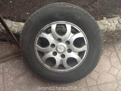Продаю на Гранд б у Nokian Hakka SUV на родных литых дисках - photo.jpg